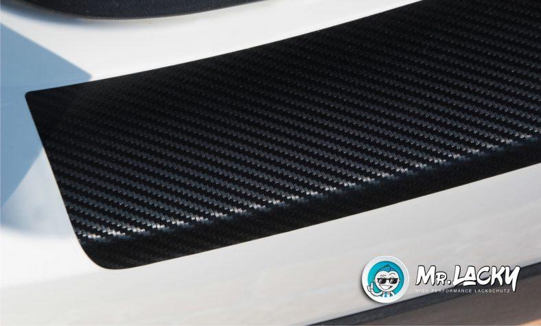 Lackschutzfolie als Ladekantenschutz - selbstklebend und paßgenau für Ihr Fahrzeug