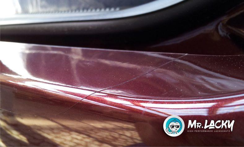 Lackschutzfolie als Ladekantenschutz - passend vorgschnitten in klar transparent